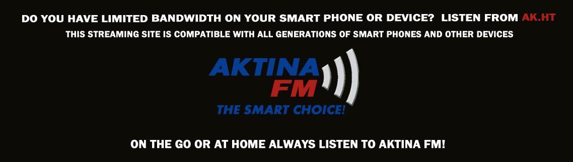 AKTINA FM Alternative Streaming Site